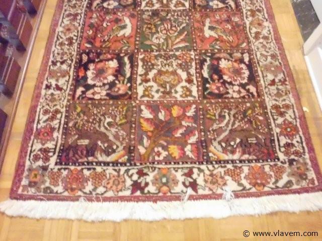 antiek tapijt 157x105