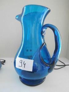 blauwe vaas H30