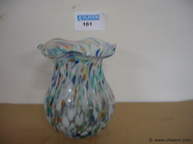gekleurde vaas