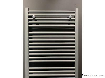 1 x H1800xB600 Handdoekradiator Mat Ant - Linteo