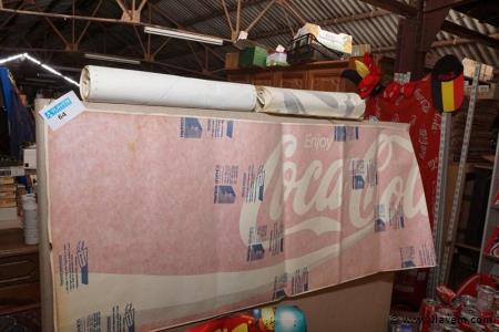 Kleefbanners voor ramen Coca-cola