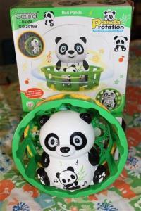 panda beer op batterij