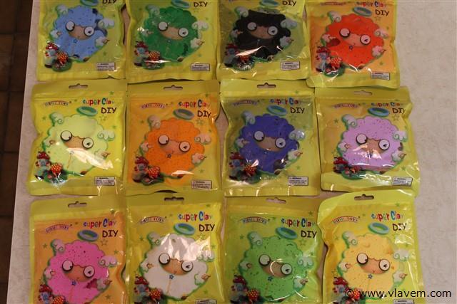 funny gummy klei