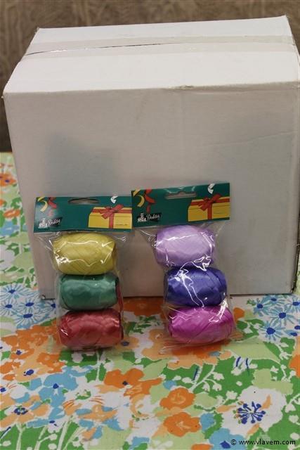 inpaklinten diverse kleuren
