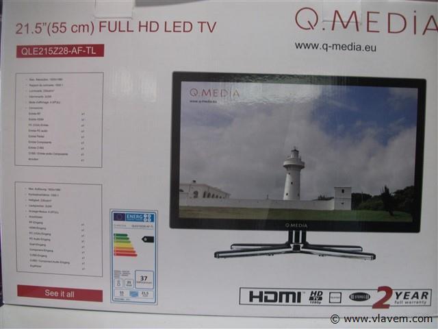 led tv 55 cm(nieuw