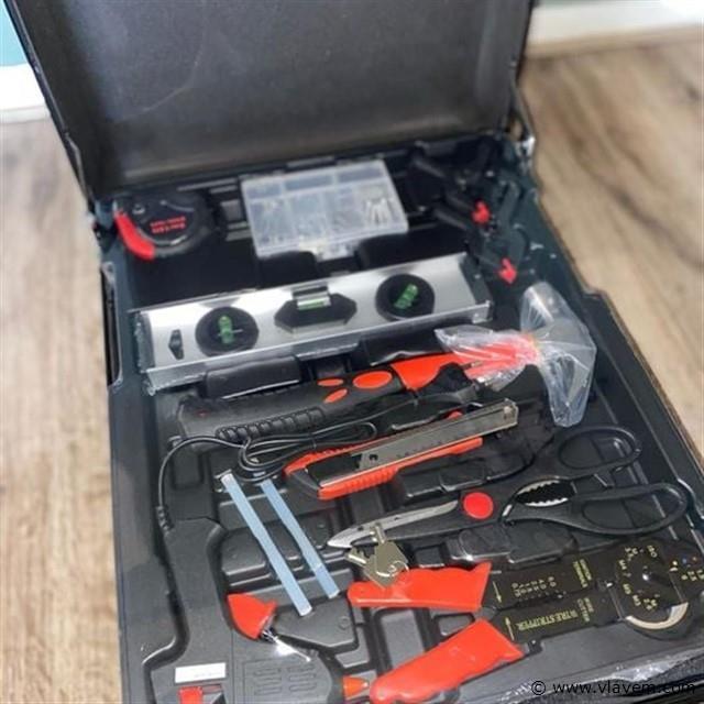 Gereedschapskoffer 599-delig