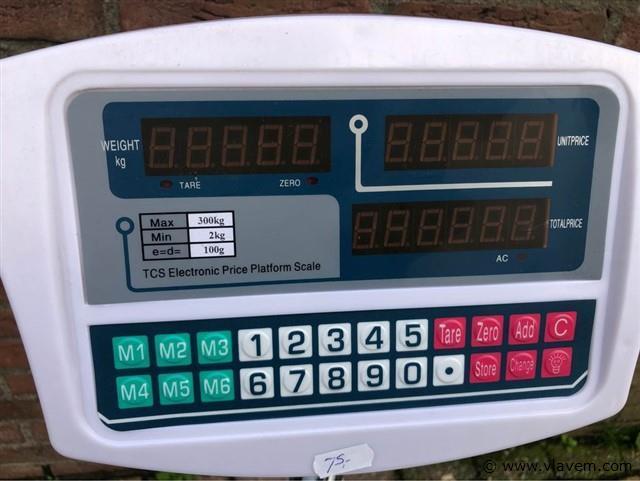 Digitale weegschaal 300kg
