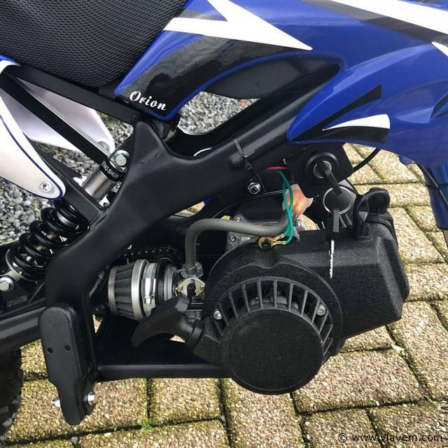 Mini bike blauw