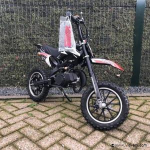 Mini bike zwart/wit