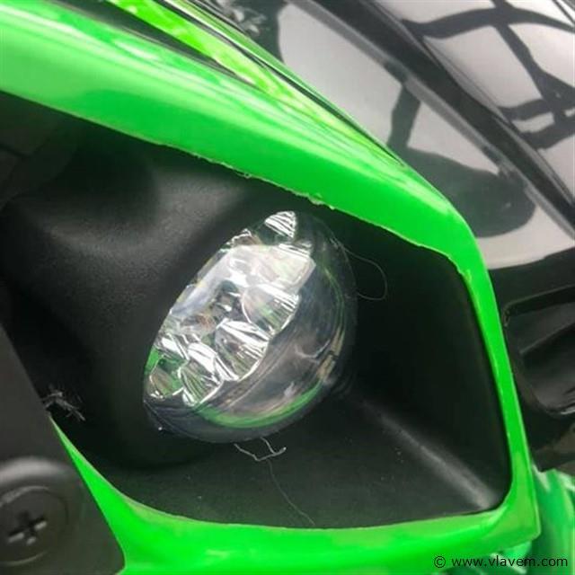 KXD Quad groen 125cc