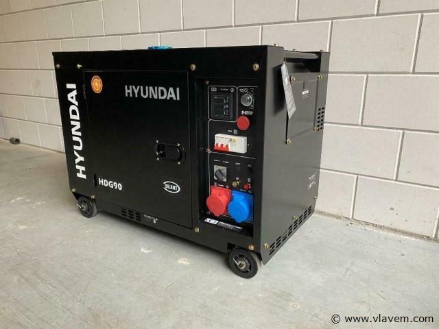 Hyundai Diesel generator