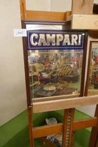 Reclame spiegel Campari