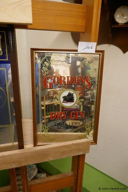 Reclame spiegel Gordons