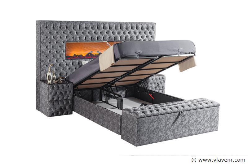 Bed met opbergbox Majesty Trento 160 cm