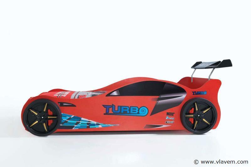 Turbo raceautobed Rode