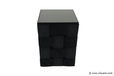 Nachtkastje Opiness Black Velvet