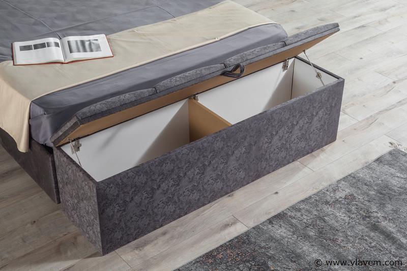 Furla Trento bank met opbergruimte 160 cm