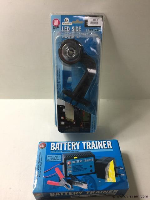 Battery trainer + Led side