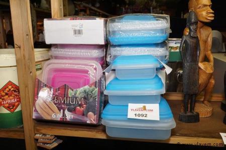 Verpakkingsdozen in plastiek