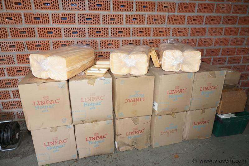 Isolerende voedselverpakking