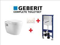 78f176071f24da 1 st. GEBERIT complete design toiletset met softclose wc bril ...
