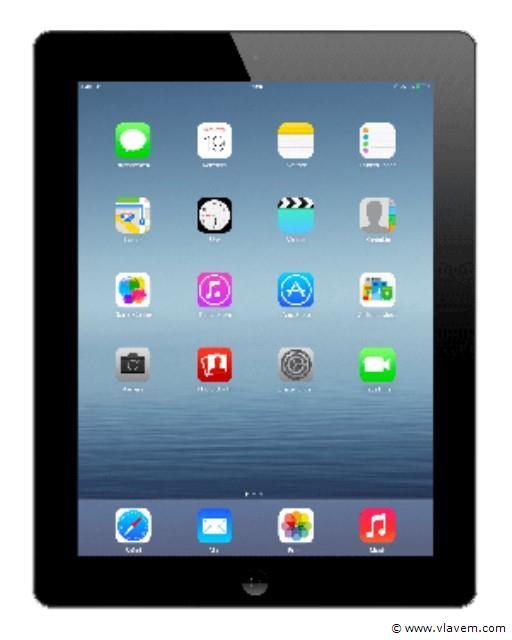 ipad 4 zwart 16GB