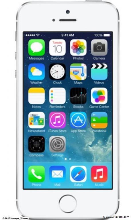 iphone 5S wit/zilver 16gb
