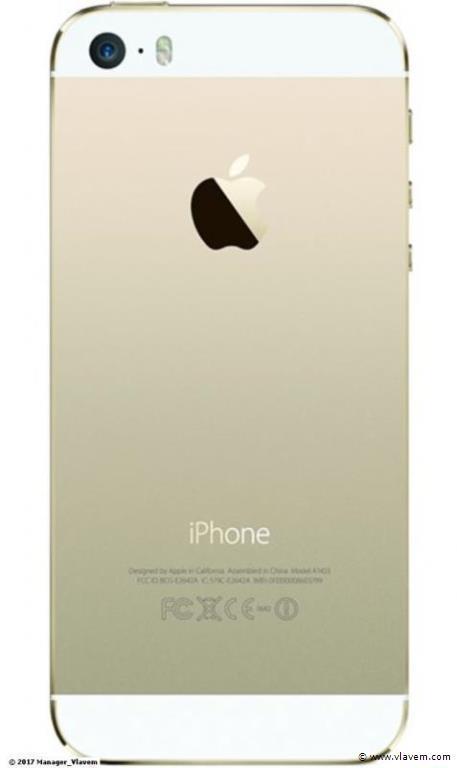 iphone 5S goud 16gb