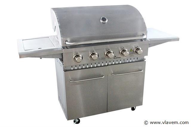 5 branders gasbarbecue
