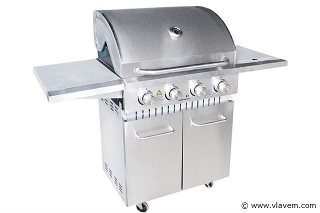 4 branders gasbarbecue