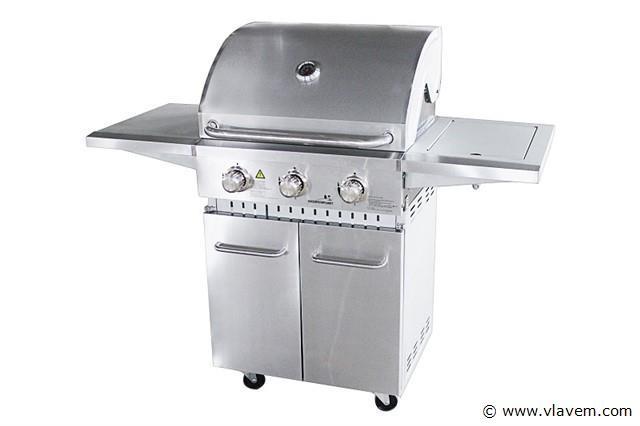 3 branders gasbarbecue