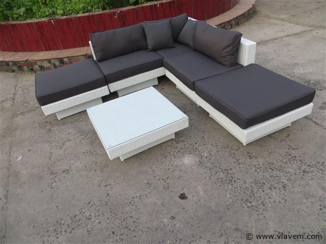 Lounge-Set, 5-Teilig