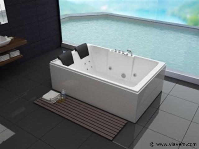 2 persoons massagebad, 180x120cm.