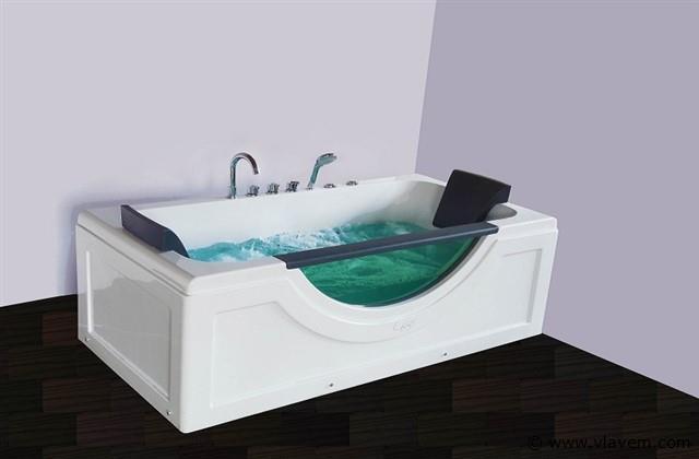 1 persoons massagebad, 180x90cm.