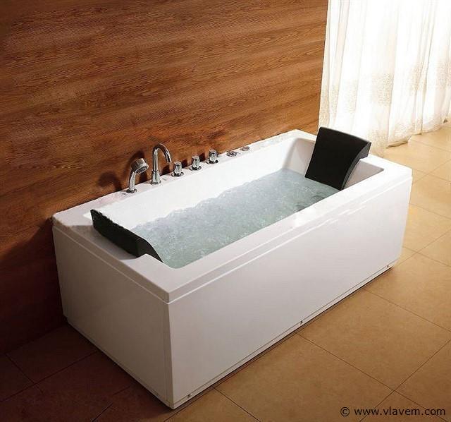 1 persoons massagebad, 170x85cm.