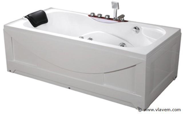 1 persoons massagebad, 175x85cm.