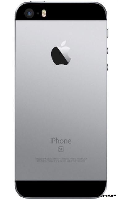 iphone se 64gb zwart
