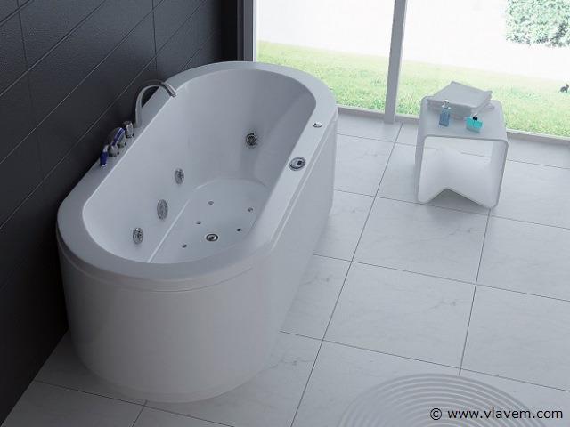 1 Persoons massagebad, 185x90cm.