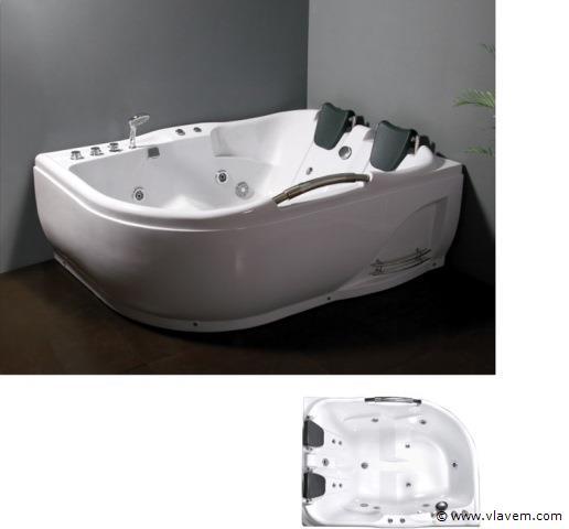 1 Persoons massagebad, 180x130cm.