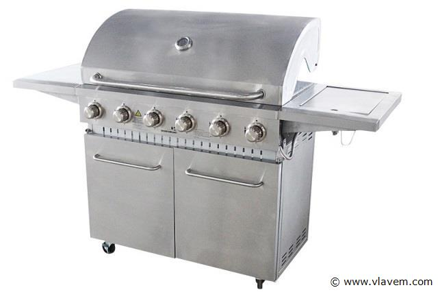 6 Branders gasbarbecue
