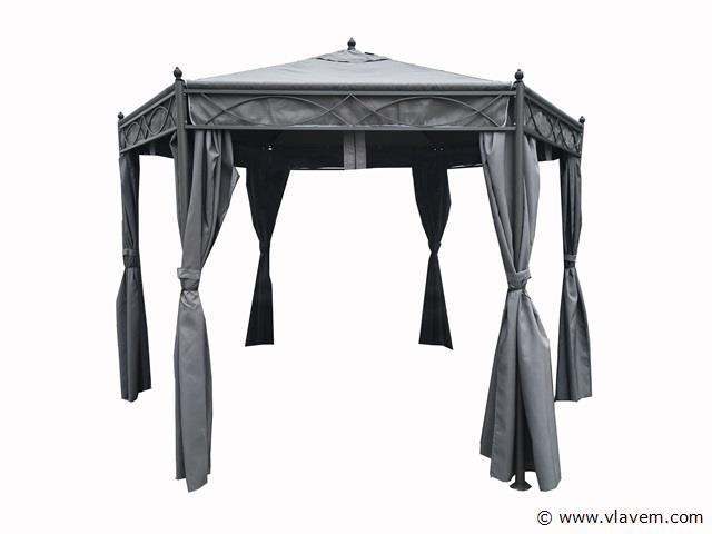 Gazebo parasol grijs