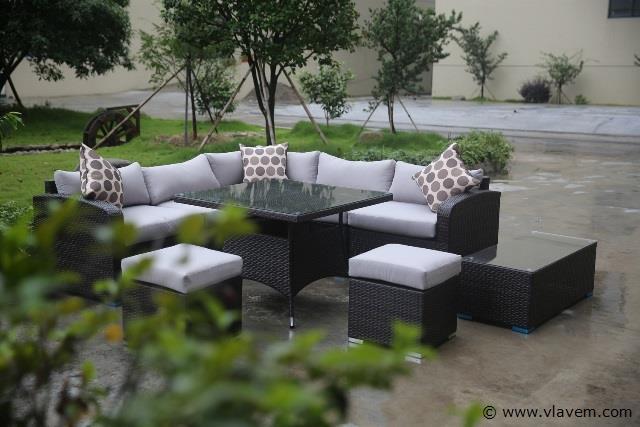 Lounge set 9 delig