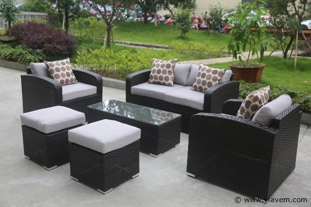 Lounge set 6 delig