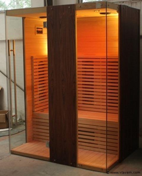 Infrarood sauna 150x110cm.