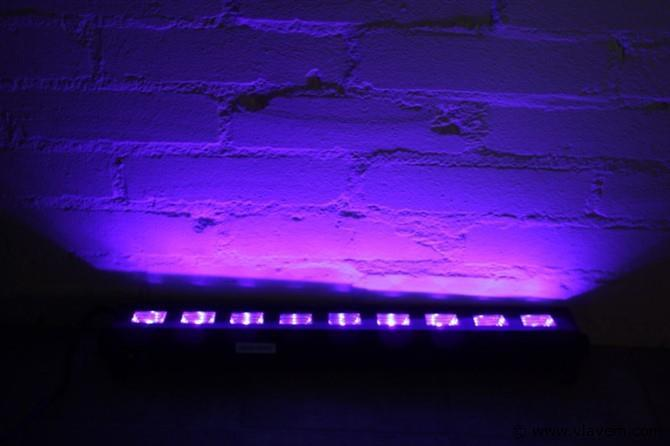 Blacklight led bar