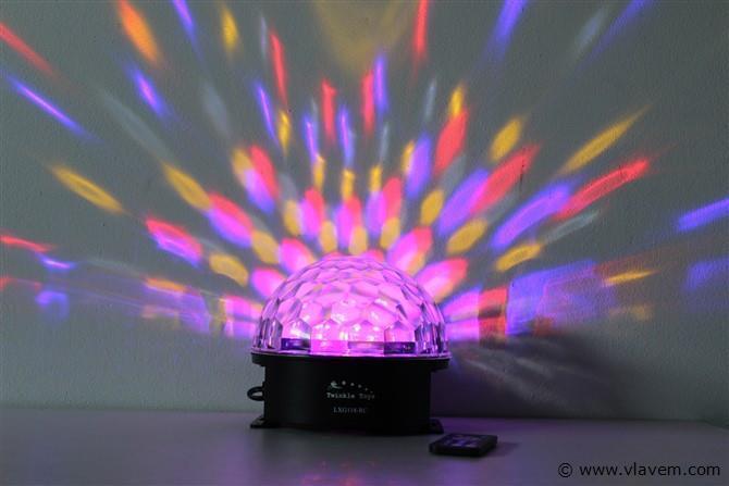 Led astro disco bal
